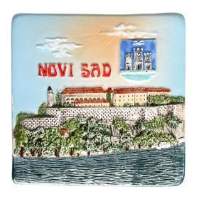 Suvenir MAGNET, keramika, Novi Sad – Petrovaradin