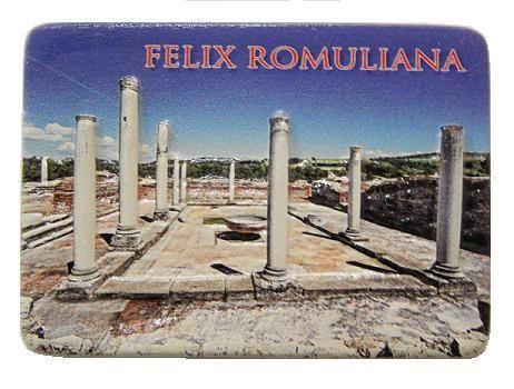 Suvenir MAGNET, keramika, reljef, foto print, Felix Romuliana