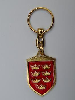 Suvenir PRIVEZAK, metalni, Kraljevo - grb