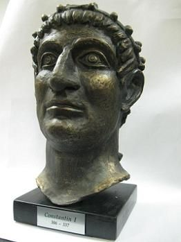 Suvenir BISTA, keramika, Car Konstantin, 35 cm