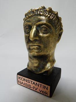 Suvenir BISTA, fundakril, Car Konstantin, 10 cm