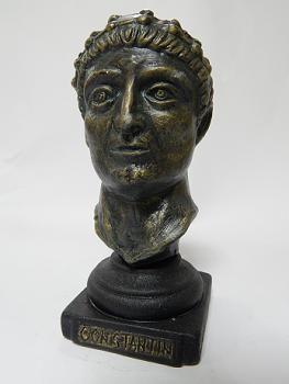 Suvenir BISTA, keramika, Car Konstantin, 13 cm