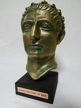 Suvenir BISTA, fundakril, Car Konstantin, 21 cm