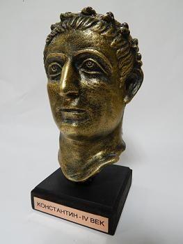 Suvenir BISTA, fundakril, Car Konstantin, 19 cm