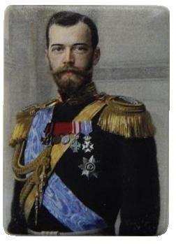 Suvenir MAGNET, keramika, foto print, imperator Nikolaj Romanov