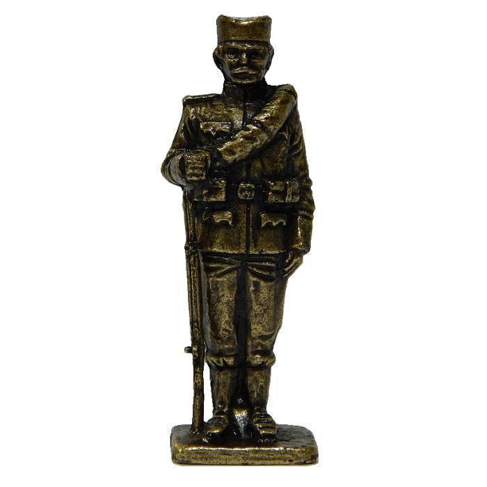 Suvenir FIGURA, metal, srpski vojnik, I svetski rat, 55 mm