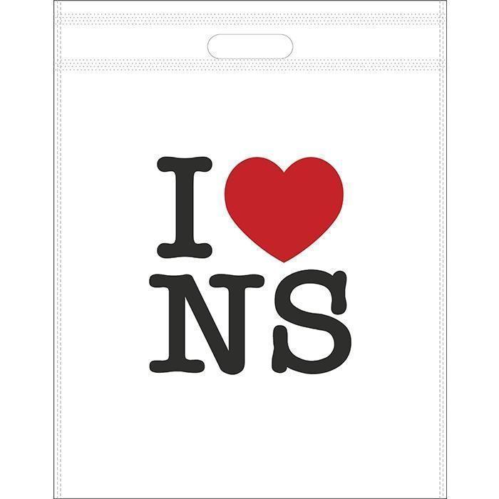 Suvenir KESA za poklon, biorazgradiva, Polly, I love NS