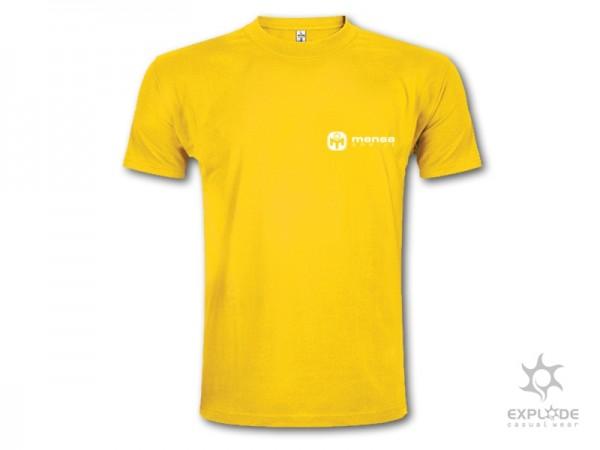 Suvenir MAJICA, tekstil, žuta, Mensa Srbije