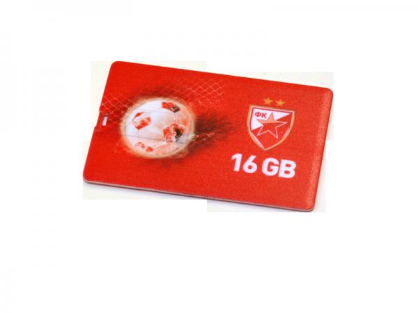 USB FLASH MEMORY, USB 2.0, 16 GB, FK Crvena zvezda