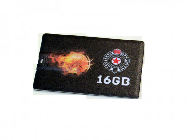 USB FLASH MEMORY, USB 2.0, 16 GB, KK Partizan