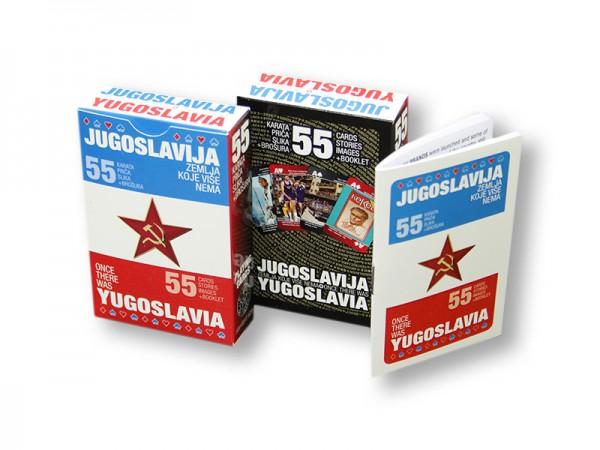 Suvenir KARTE ZA IGRANJE, 55, Jugoslavija