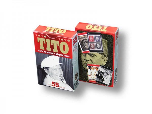Suvenir KARTE ZA IGRANJE, 55, Tito
