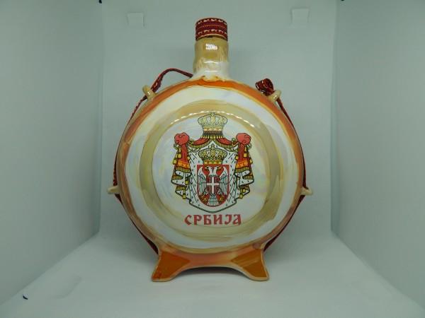 Suvenir ČUTURICA, keramika, M, velika, preslikač, Srbija