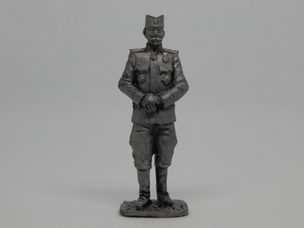 Suvenir FIGURA, metal, 60 mm, Veliki rat, vojvoda Petar Bojović