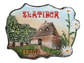 Suvenir MAGNET, keramika, Zlatibor
