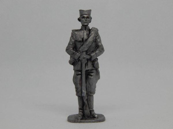 Suvenir FIGURA, metal, 60 mm, Veliki rat, Srpski vojnik 1912-1918
