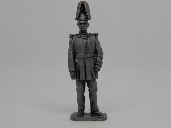 Suvenir FIGURA, metal, 60 mm, Srpski oficir 1850-1860