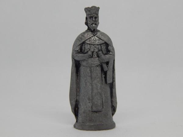 Suvenir FIGURA, metal, 60 mm, knez Lazar Hrebeljanović