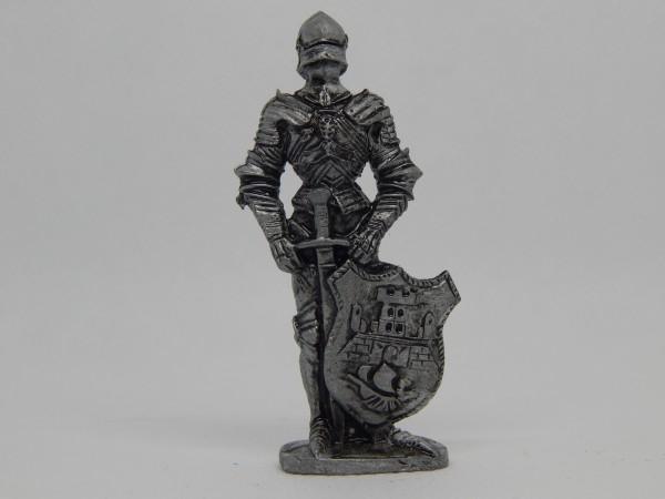 Suvenir FIGURA, metal, 60 mm, srpski vitez beogradski stražar