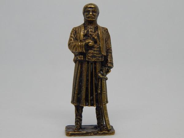 Suvenir FIGURA, metal, 58 mm, vožd Karađorđe