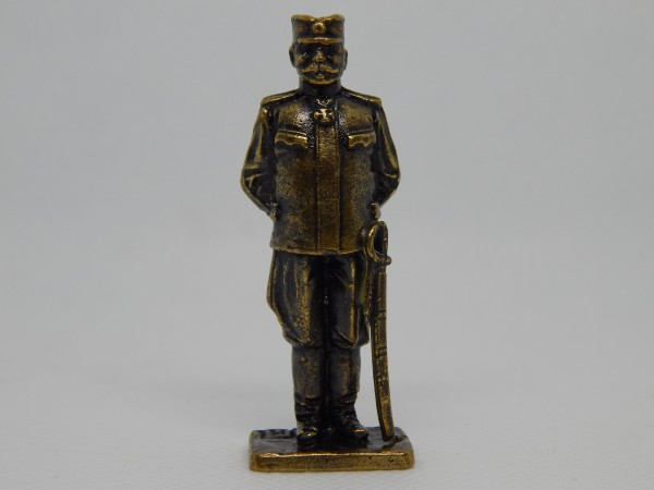 Suvenir FIGURA, metal, 58 mm, Veliki rat, vojvoda Stepa Stepanović